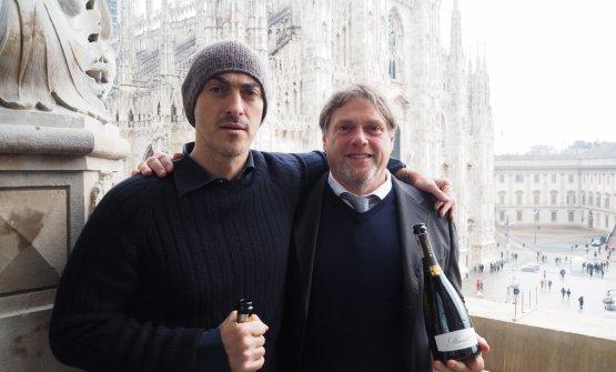 Gabriele Moratti con Gian Matteo Baldi