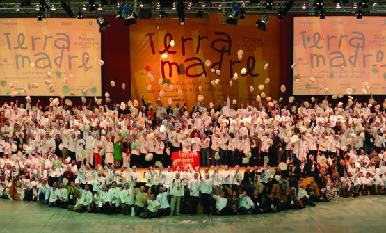 2006: a thousand chefs at Salone del Gusto-Terra Madre
