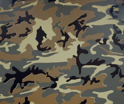 Camouflage, Andy Warhol, 1986