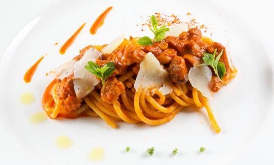 Uno dei piatti delJ.K. Kitchen,ristorante delJ.K. Place, hotel 5 stelle lusso di Capri (Napoli)