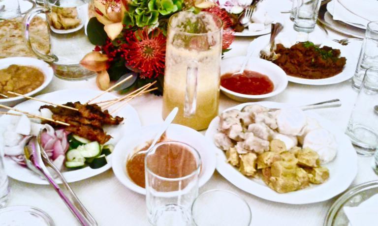 Una tavola della Malysia imbandita... a Expo 2015