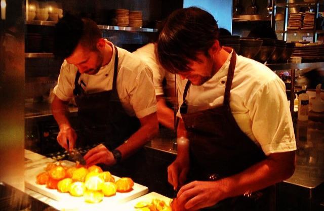 Al lavoro con Renè: lo chef romano Alessandro Pro