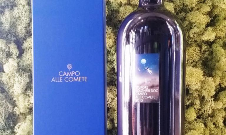 Stupore, Bolgheri Rosso Doc 2015, blend in misura decrescente di Merlot, Syrah, Petit Verdot e Cabernet Sauvignon