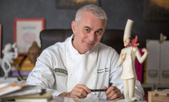 Pasquale Caliri, autore di questo articolo. Ottimo chef, è stato anche valente giornalista