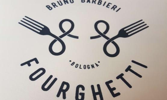 Il logo di Fourghetti, a Bologna
