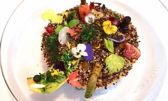 I piatti diRafael Rodriguez, patron chef del milaneseQuechua:Foresta amazzonica(creazione)...