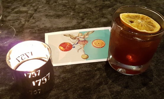 """260"", a new take on Americano signed by barman Marco Ciminnisi"