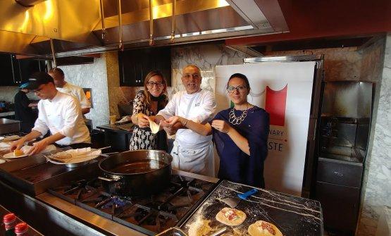 Enzo Coccia, pizzeria La Notizia di Napoli (e tanto altro) in trasferta a Los Angeles perla Settimana della cucina italiana nel mondoin California