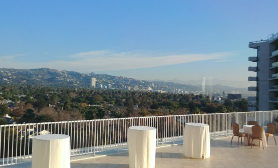 Vista dal Beverly Hilton
