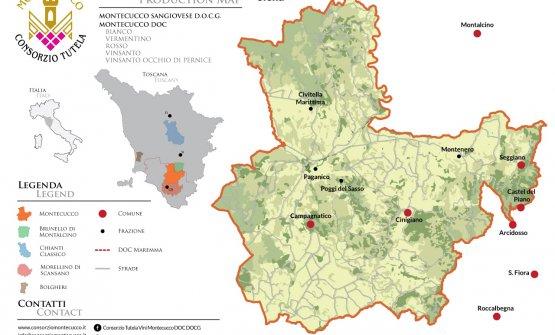 La mappa della denominazione