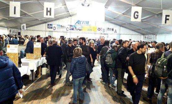 Appassionatiriuniti dall'associazione Vini di Vignaioliil 3-5 novembre scorso a Fornovo di Taro (Parma)