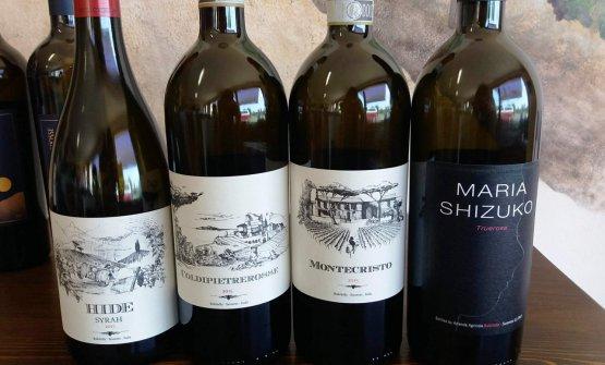 I principali vini dell'azienda Bulichella