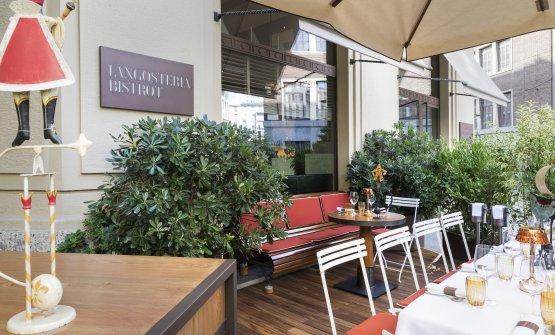 Il nuovo dehors del Langosteria Bistrot a Milano
