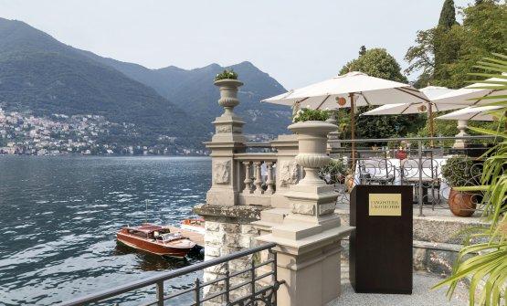 La nuova Langosteria al Mandarin - Lago di Como