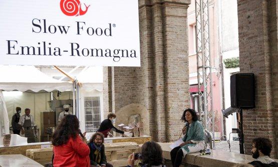 Uno dei laboratori organizzati da Slow Food Emilia Romagna