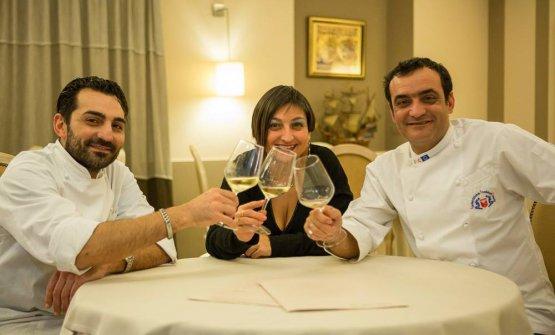 Salvatore, Antonella e Vincenzo Butticè