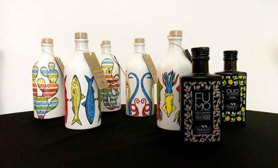 Una selezione dei grandi oli targati Frantoio Muraglia