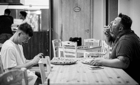 Nuove pizzerie romane: una foto tratta dal profilo Facebookdi180g Pizzeria Romana. Scatto di Romedia Studio