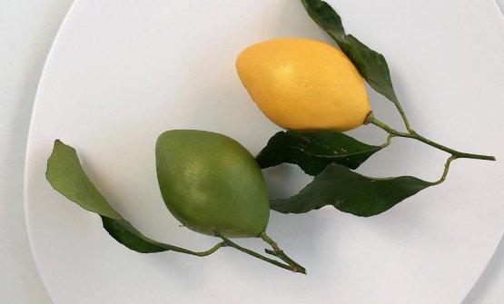 Limone giallo e limone verde