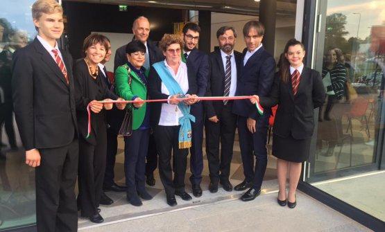 L'inaugurazione ufficiale del nuovo Istituto Alberghiero Olmo di Cornaredo, mentore Davide Oldani