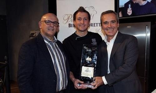 Da sinistra, Claudio Sadler, il vincitore della se