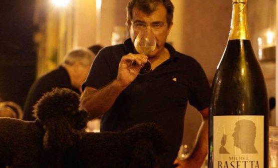 Michele Marcucci, titolare dell'Enoteca Marcuc
