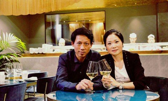 Xiaobo Zhou e Alessandra Hu