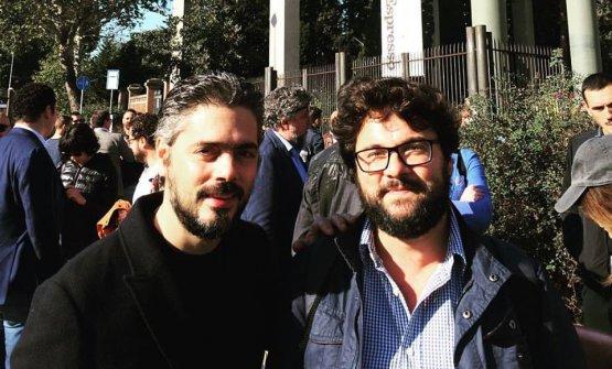 Matteo Baronetto con Iaccarino