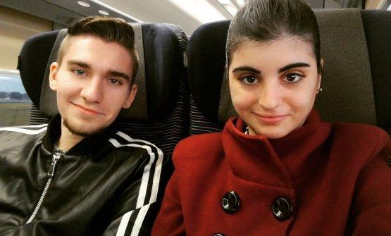 Il viaggio d'andata verso Milano, prima della finalissima