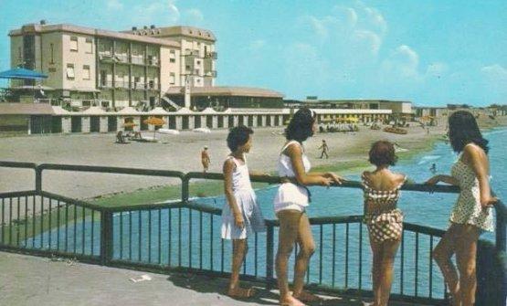 Com'era Il Fogliano, in una cartolina degli anni Sessanta