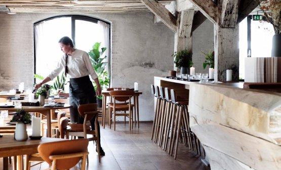Un dettaglio della sala di Barr, a Copenhagen, in una foto tratta dal sito ufficiale del ristorante