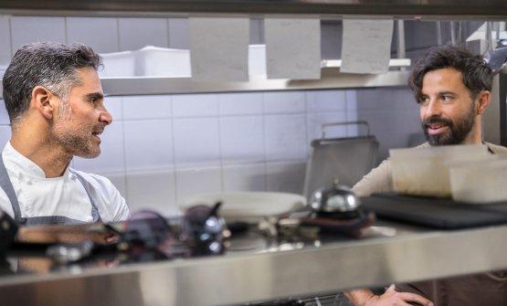 Marco Baglieri col suo secondo,Igor Barbieri