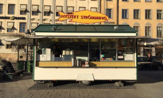 Nystekt Strömming, popolare foodtruck a Stoccolma