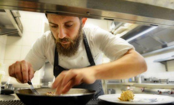 Donato Ascani è da poco più di due anni chef - sotto la supervisione di Enrico Bartolini - del Glam a Palazzo Venart, a Venezia