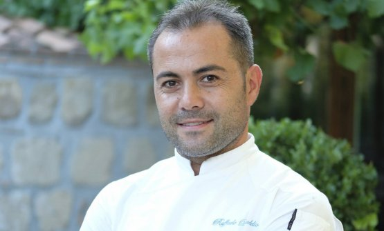 Raffaele D'Addio, chef e patron del Foro dei Baroni a Puglianello (Benevento)