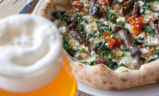 La pizza di Lello Ravagnan da Grigoris