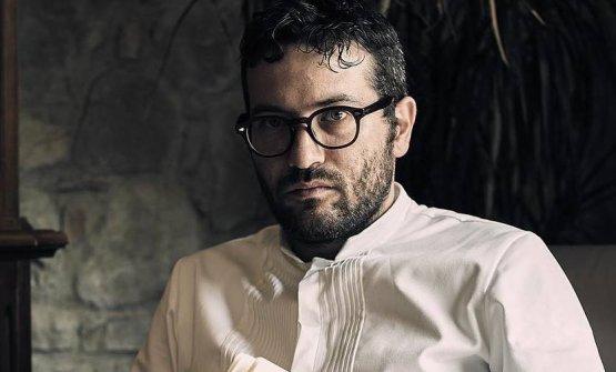 Giuseppe Iannotti, chef e patron del ristorante Kr