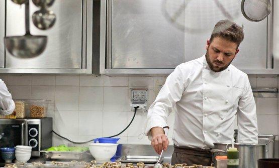 Alessandro Narducci, executive chef del ristorante