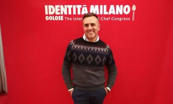 Antonio Goeldlin al Congresso di Identità Golose: il brand campano è stato anche partner dell'evento lo scorso anno