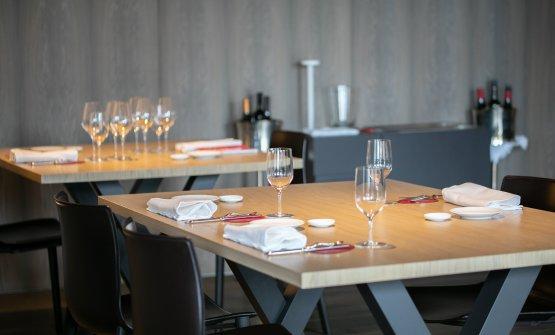 La sala del ristorante Marconi