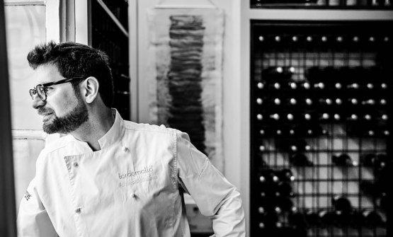 Adriano Baldassarre, chef e patron di Tordomatto,