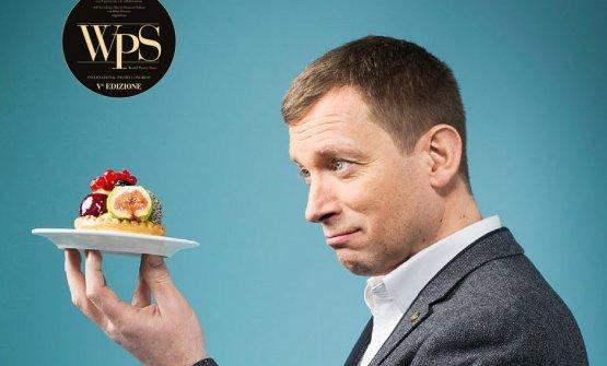 Benoit Blin, chef pâtissier alLe Manoir aux Quat'Saisons di Oxford in Inghilterra, tra i relatori della quinta edizione diWorldPastry Stars, congresso internazionale di pasticceria in corso a Milano il 21 e 22 maggio 2018