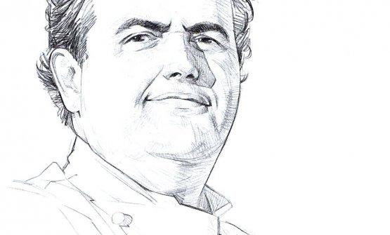 Un disegno raffigurante Gennaro Esposito, classe 1