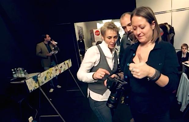 Francesca Brambilla, Federico Cicogna e Serena Serrani, autori del video ufficiale di Identit� Milano 2015