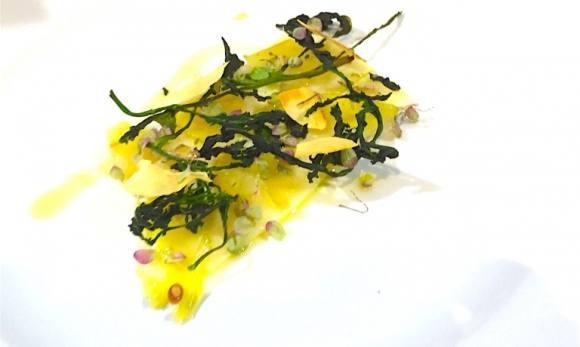 """The """"overcooked"""" pasta by Alessandro Negrini and Fabio Pisani of Il Luogo di Aimo e Nadia, Milan"""