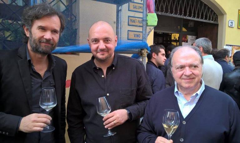 Carlo Cracco, Giuseppe Palmieri, Enzo Vizzari