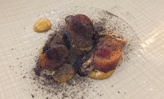 Carrot with mussels (photo by Laura Dipietrantonio)