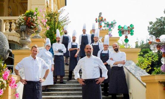 La brigata dall'Amistà 33, ristorante gastronomico delByblos Art Hotelin Valpolicella
