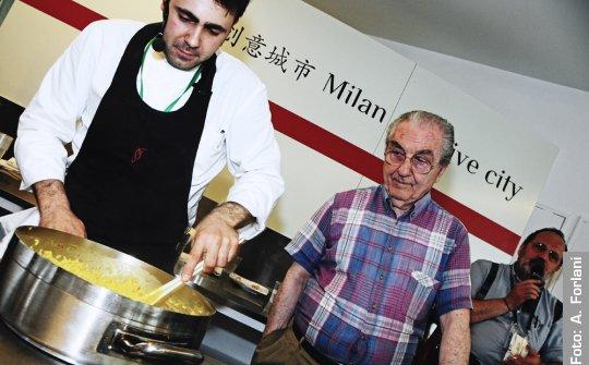 Daniel Canzian e Gualtiero Marchesi, insieme per 8 anni al Marchesino