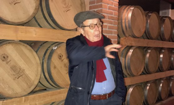 Il presidente di Santadi Antonello Pilloni